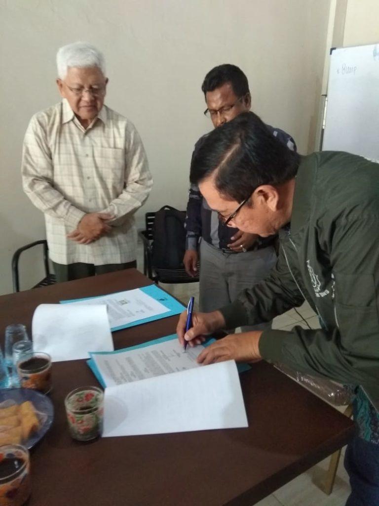 Kerjasama antara BUMP PT. Riau Tani Mandiri dengan Pengusaha dari Kuala Lumpur Malaysia disaksikan oleh BNI Cabang Pekanbaru Riau