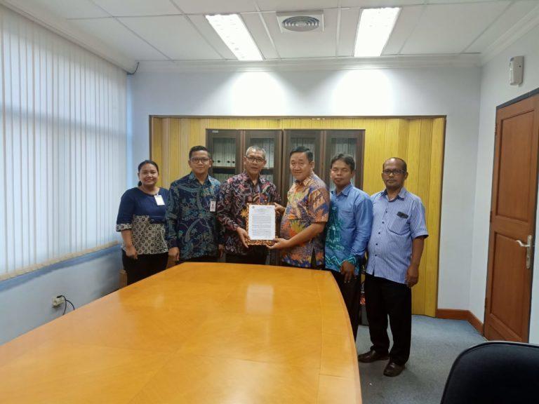 Penandatanganan Kerjasama Seknas BUMP Indonesia dengan Bank Negara Indonesia (BNI) Cabang Kalimantan Selatan.