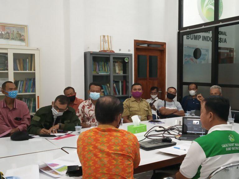 Rembug BUMP, Gapoktan dan LPM Wonogiri Temui Seknas BUMP Indonesia